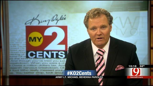 My 2 Cents: Former Army Lt. Michael Behnna Parole