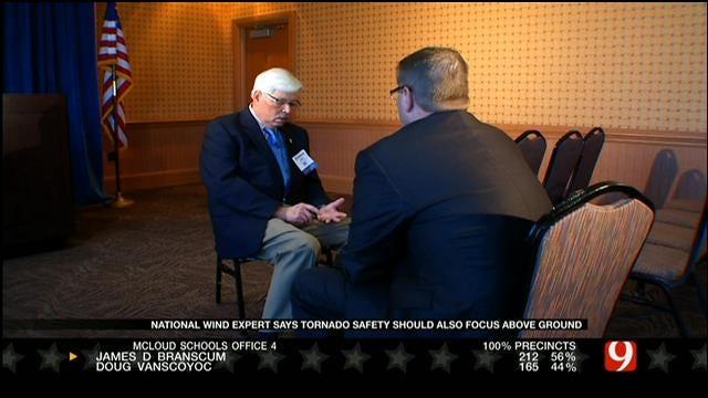Wind Expert Talks Tornado Shelters