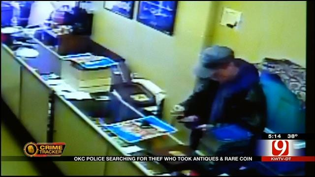 OKC Business Owners Catch Antiques, Coin Thief On Surveillance