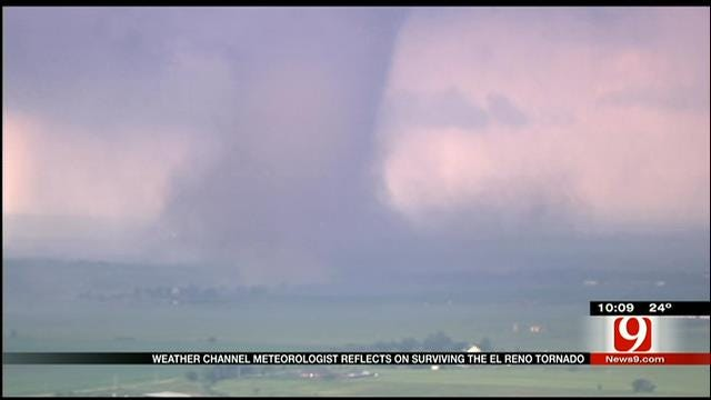Weather Channel Meteorologist Shares El Reno Tornado Escape Story