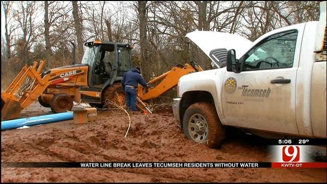 Water Back On In Tecumseh