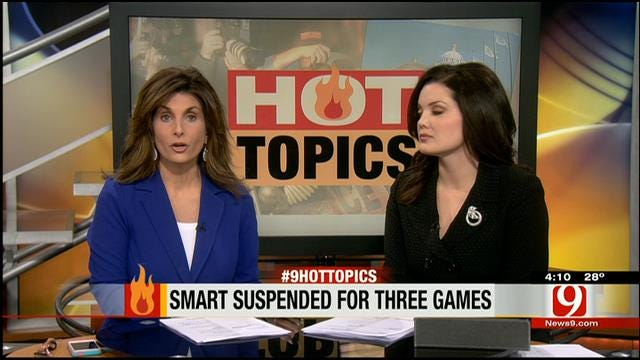 Hot Topics: Smart Suspended For Three Games