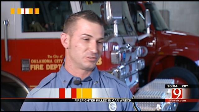 OKC Firefighter Battling Parkinson's Dies In Accident