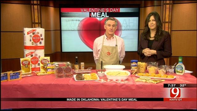 Made In Oklahoma: Valentine's Day Meal