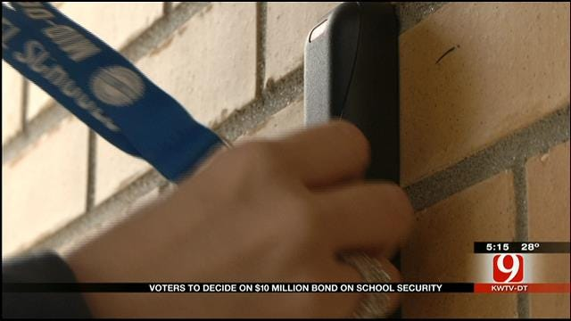 Bonds Proposed For Mid-Del School Security