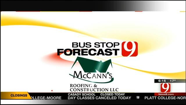 Jed's Bus Stop Forecast On Friday, February 7