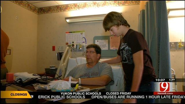 OKC Kid Calls 911, Saves Father's Life