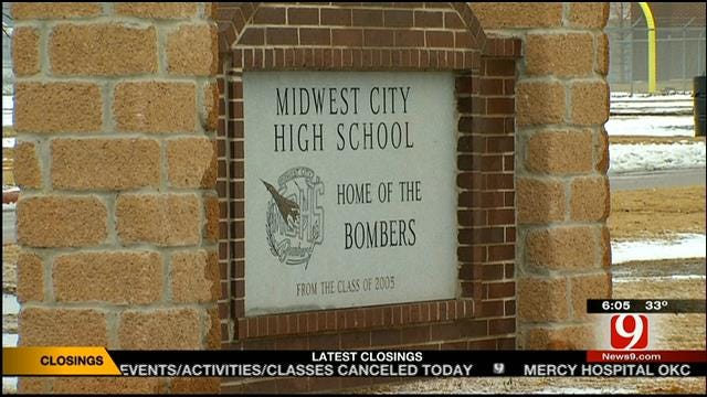 2 MWC High School Students Charged With Setting Girl's Hair On Fire
