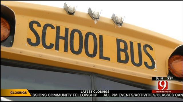 Yukon Schools Looking To Invest In A School Bus Tracker App