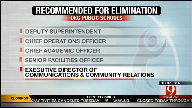 New OKC School Board Plan Expected To Save Millions, Administrators Lose Jobs