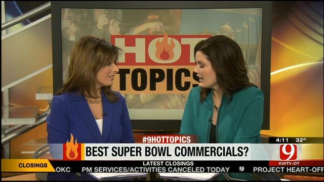 Hot Topics: Best Super Bowl Commercials?