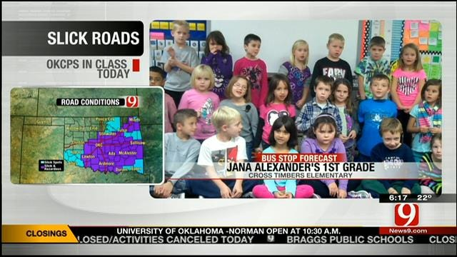 Jed's Bus Stop Forecast On Monday, February 3