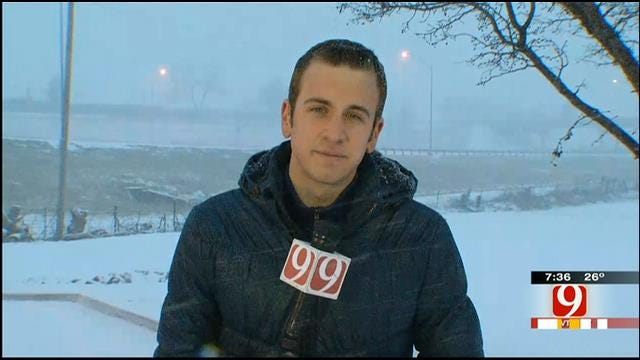 Michael Konopasek's Weather Coverage From Purcell