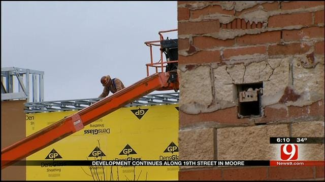 Development Continues Along 19th Street In Moore