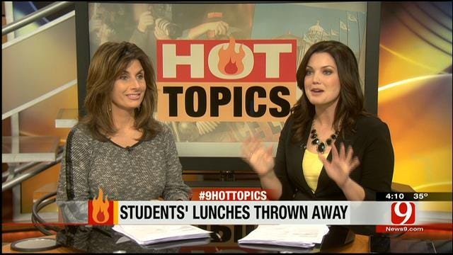 Hot Topics: Students' Lunches Thrown Away