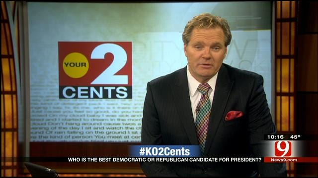 Your 2 Cents: Best Candidates For POTUS In 2016
