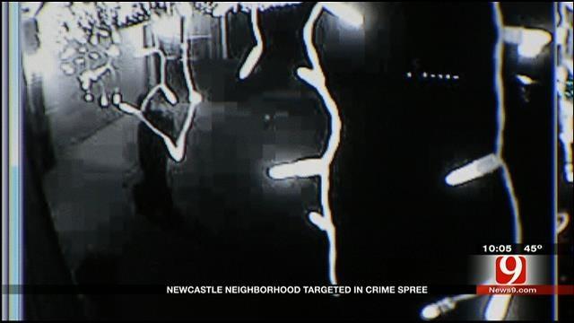 Newcastle Neighborhood Targeted In Crime Spree