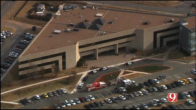 Bob Mills SkyNews 9 Flies Over Suspicious Substance Found At Capitol Complex