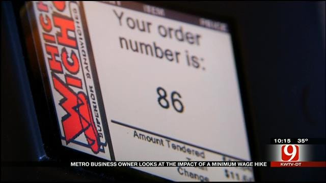 OKC Business Owner Discusses Impact Of Minimum Wage Hike