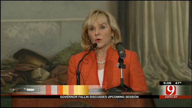 Fallin To Discuss School Safety Issue In Upcoming Session