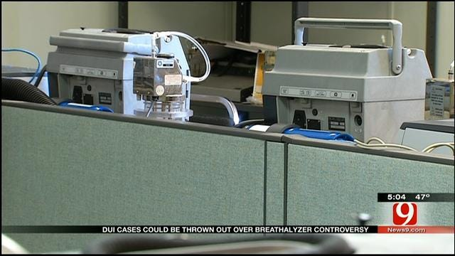 Oklahoma DUI Cases Could Be Thrown Out Over Breathalyzer Controversy