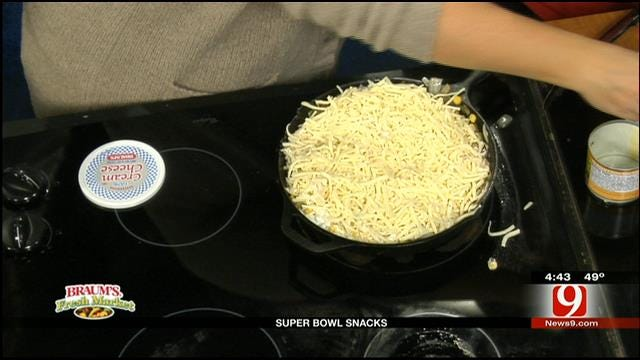 Green Chili And Cheesy Corn Dip