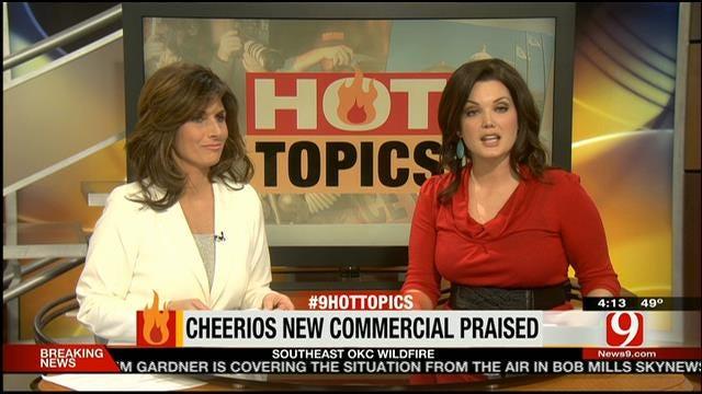Hot Topics: Cheerio Commercials Return