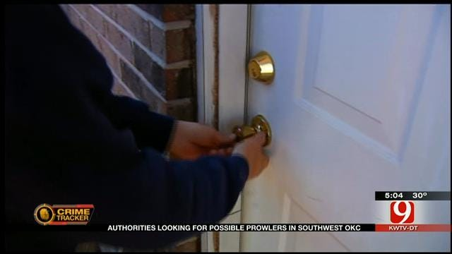 OKC Neighborhoods On Alert After Prowler Visits