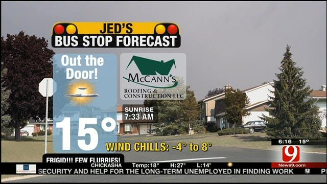 Jed's Bus Stop Forecast For Tuesday, January 28, 2014