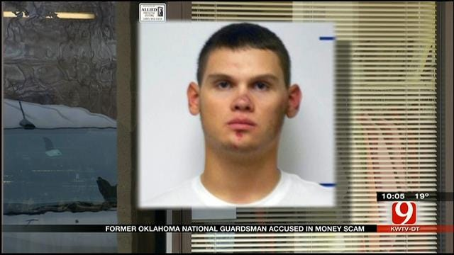 Former OK National Guardsman Accused In Money Scam