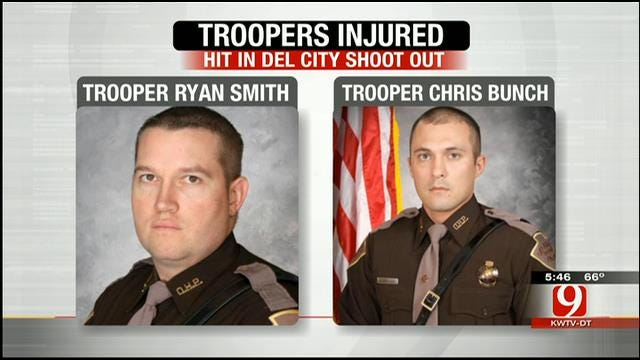 OHP Troopers Injured In Del City Gun Battle Recovering