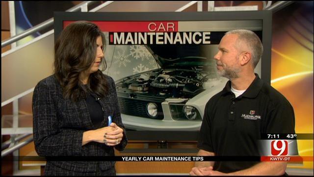 Hudiburg Shares Car Maintenance Tips