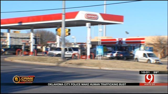 Oklahoma City Police Make Human Trafficking Bust