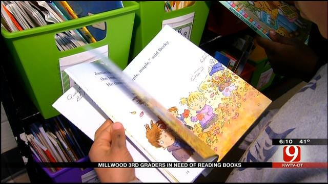 Millwood 3rd Graders In Need Of Reading Books