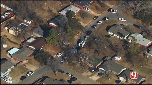 WEB EXTRA: Police Involved In Standoff At Norman House