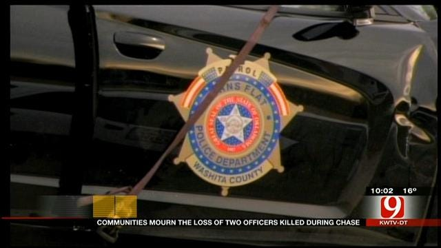 OK Communities Mourn The Loss Of Officers Killed During Chase