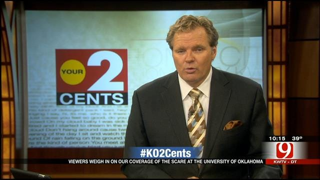 Your 2 Cents: News Coverage Of Reported Shooting At OU