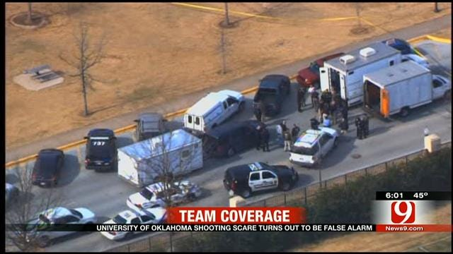 Reported Shooting At OU Calls 'Guns On Campus' Into Question