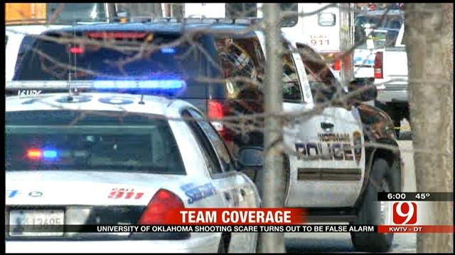 OU Students React To Shooting Report On Campus