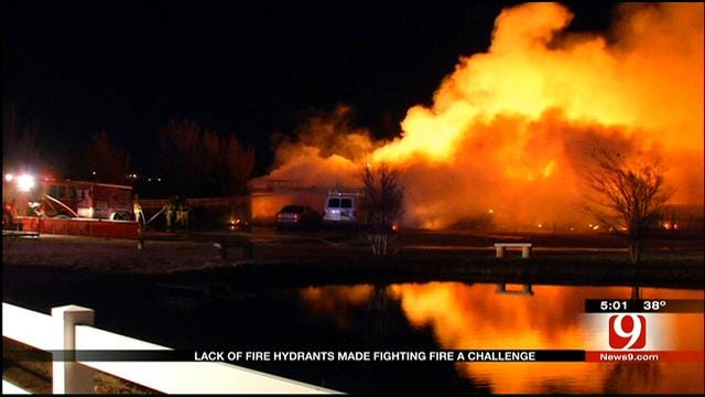 Neighbors Concerned Over Lack Of Fire Hydrants After OKC House Fire
