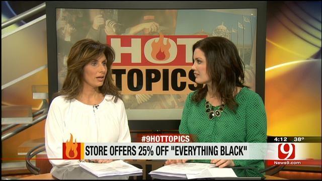 Hot Topics: MLK 'Everything Black' Sale
