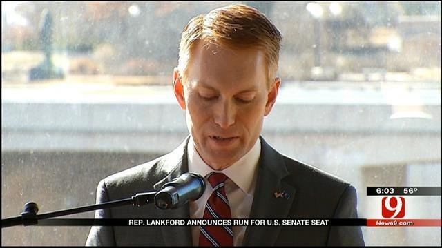 Congressman Lankford Announces His Run For Senate Seat