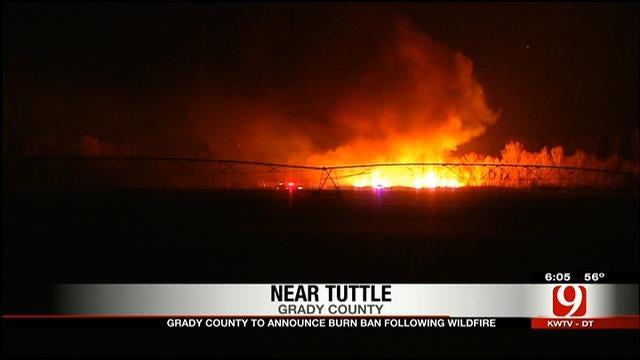 Firefighters Rethink Rules On Controlled Burns After Tuttle Grass Fire