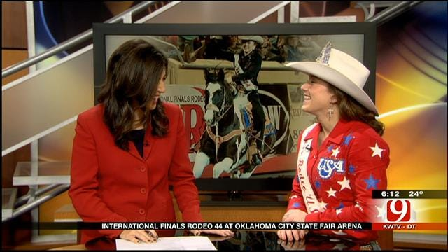 Miss Rodeo USA Lauren Terry Visits News 9 This Morning