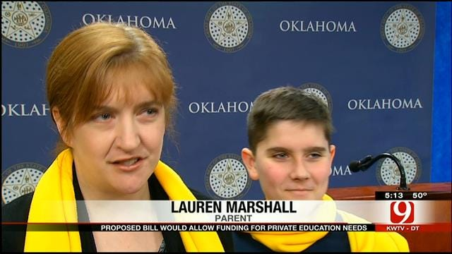 Proposed Bill Would Allow Funding For Private Education Needs