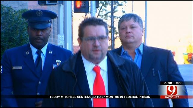 Convicted OK Gambler Teddy Mitchell Sentenced To 27 Months In Prison