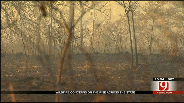 Controlled Burn Gets Too Close For Comfort For Slaughterville Man