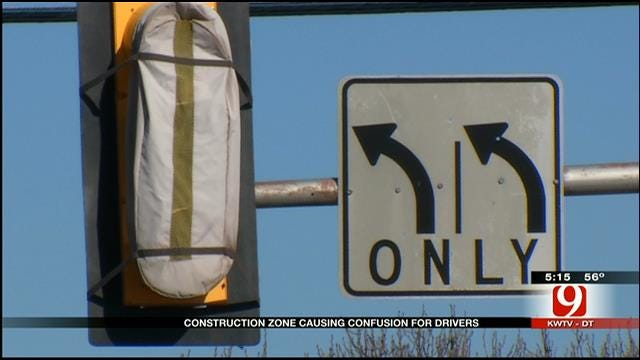 Construction Causing Confusion For Some On Council Rd.