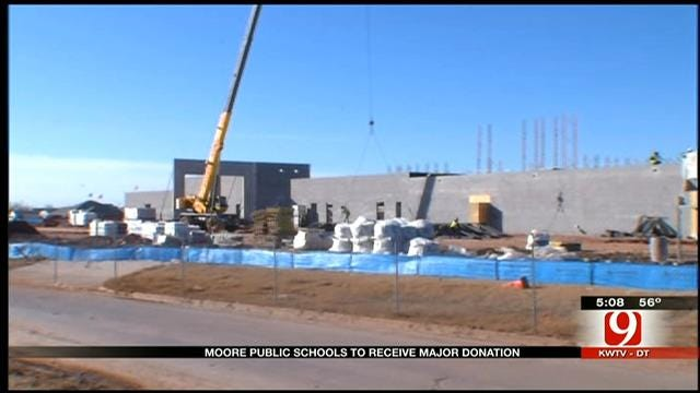 Roughly $4 Million Donated To Moore Public Schools Since Tornado