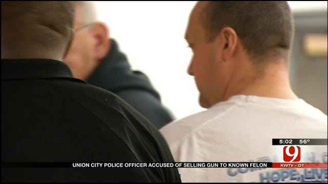 Union City Police Officer Arrested For Stealing Gun, Selling To Felon